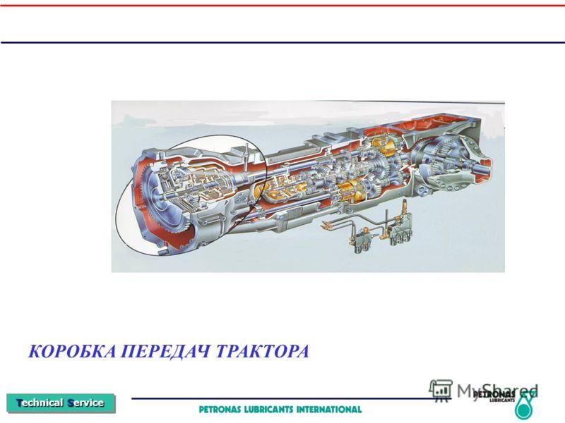 Technical Service КОРОБКА ПЕРЕДАЧ ТРАКТОРА