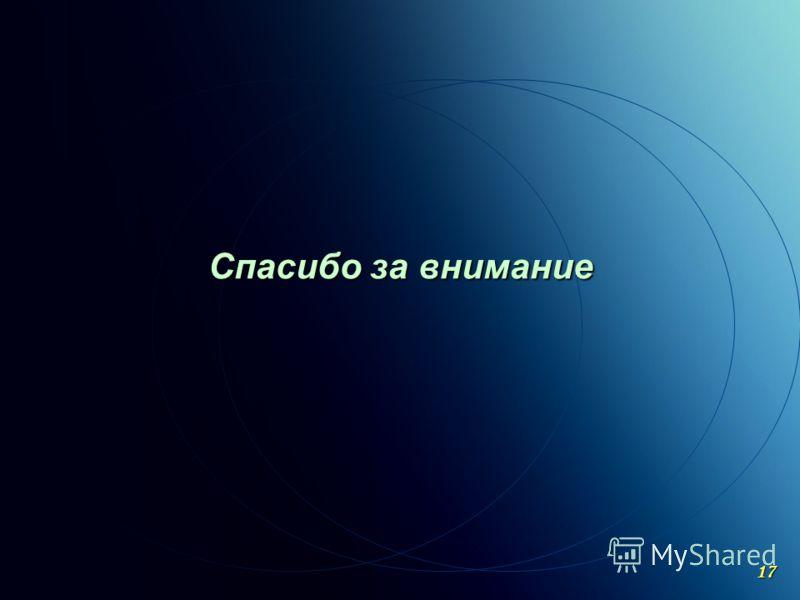 C ОАО «МКНТ»,2004 Спасибо за внимание 17