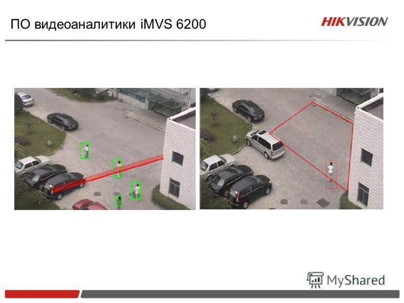 ПО видеоаналитики iMVS 6200