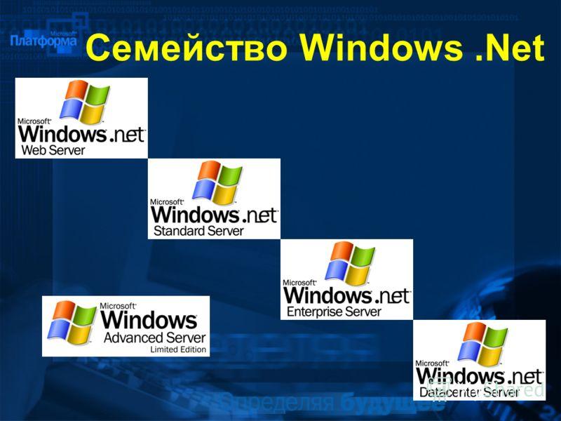 Семейство Windows.Net