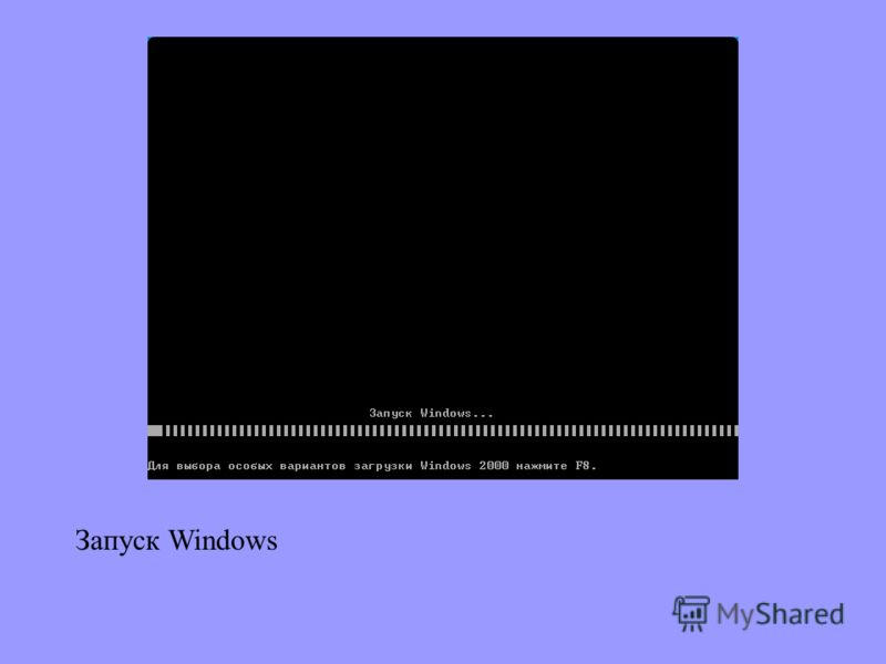 Запуск Windows