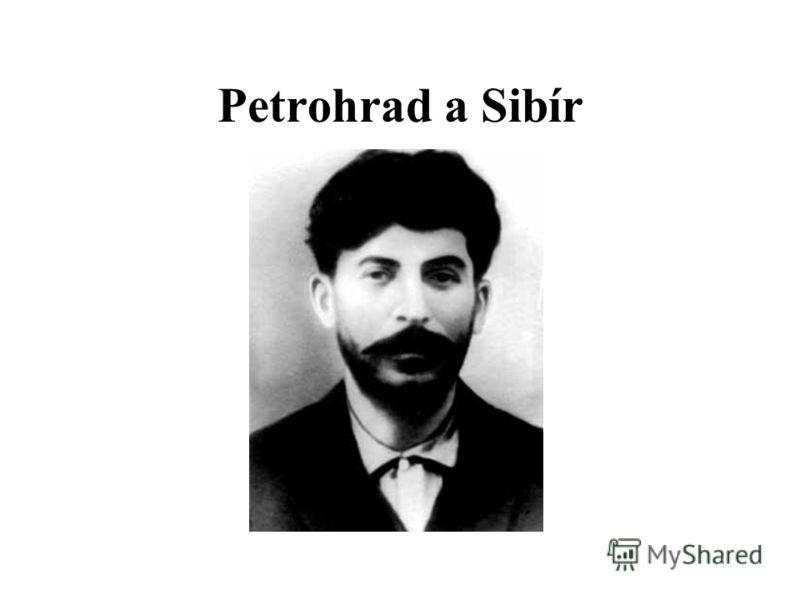 Petrohrad a Sibír