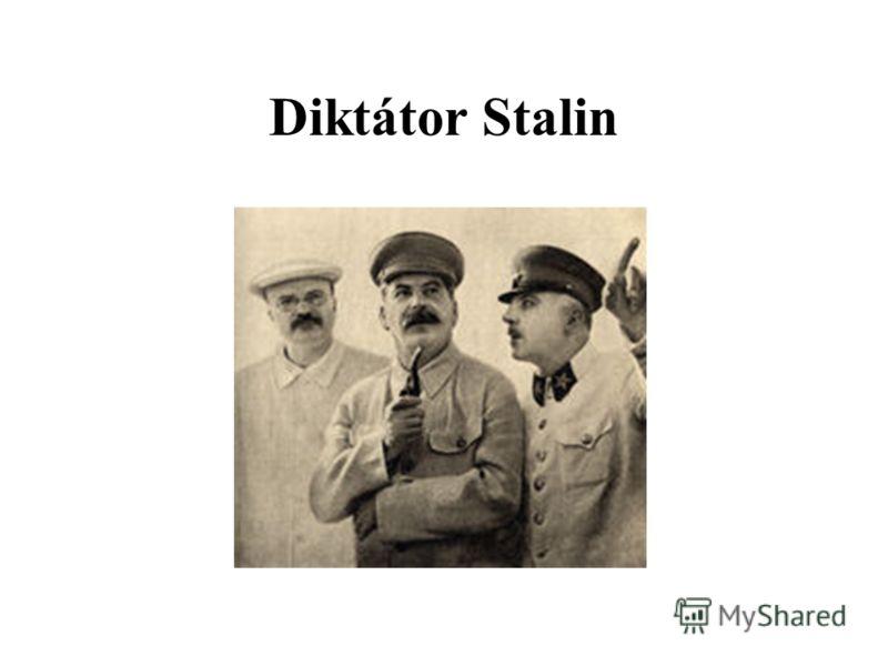 Diktátor Stalin