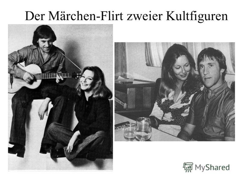 Der Märchen-Flirt zweier Kultfiguren