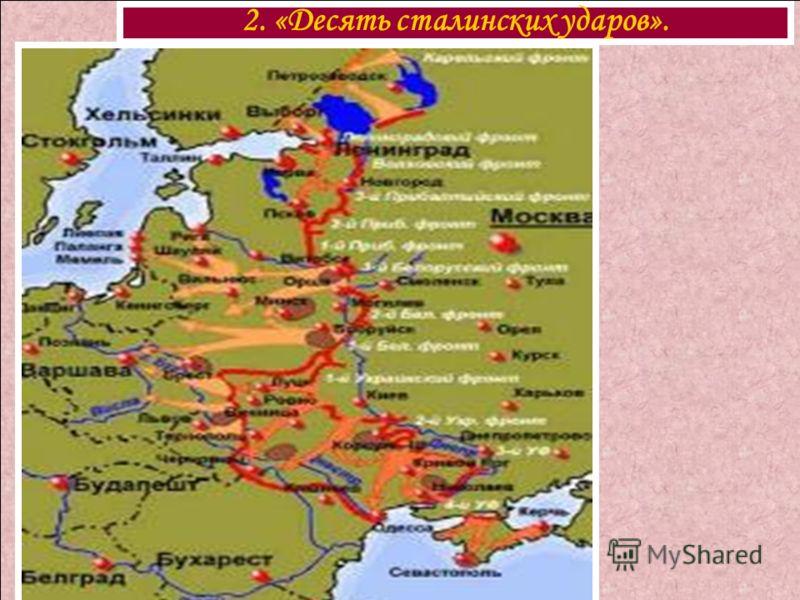 2. «Десять сталинских ударов».