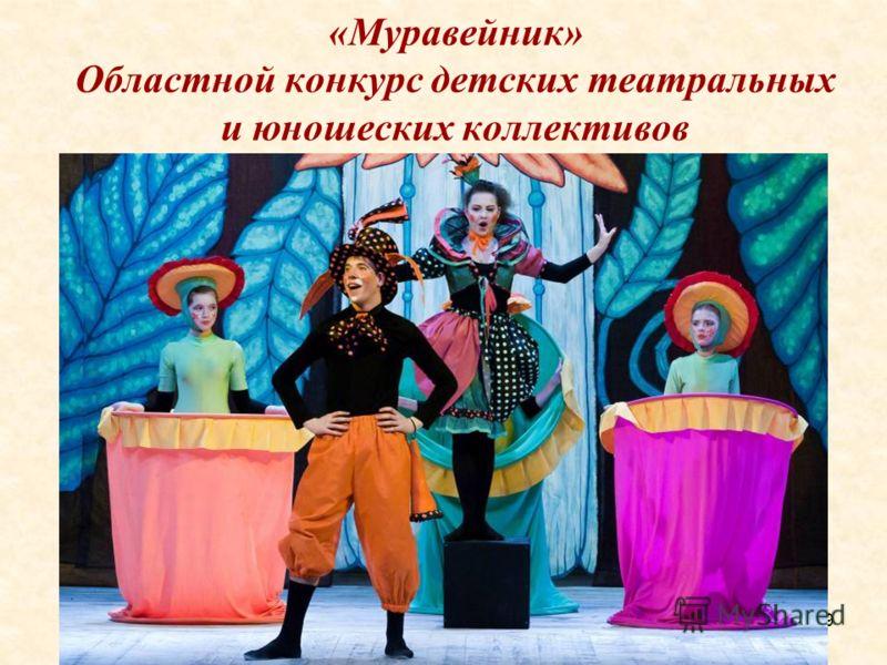 19 «Муравейник» Областной конкурс детских театральных и юношеских коллективов