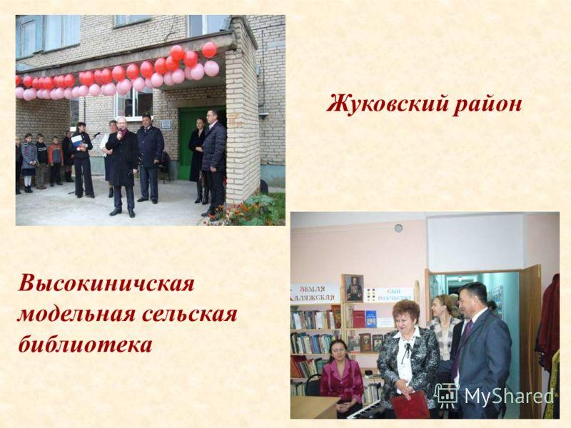 45 Высокиничская модельная сельская библиотека Жуковский район