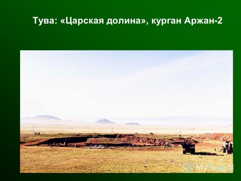 Тува: «Царская долина», курган Аржан-2