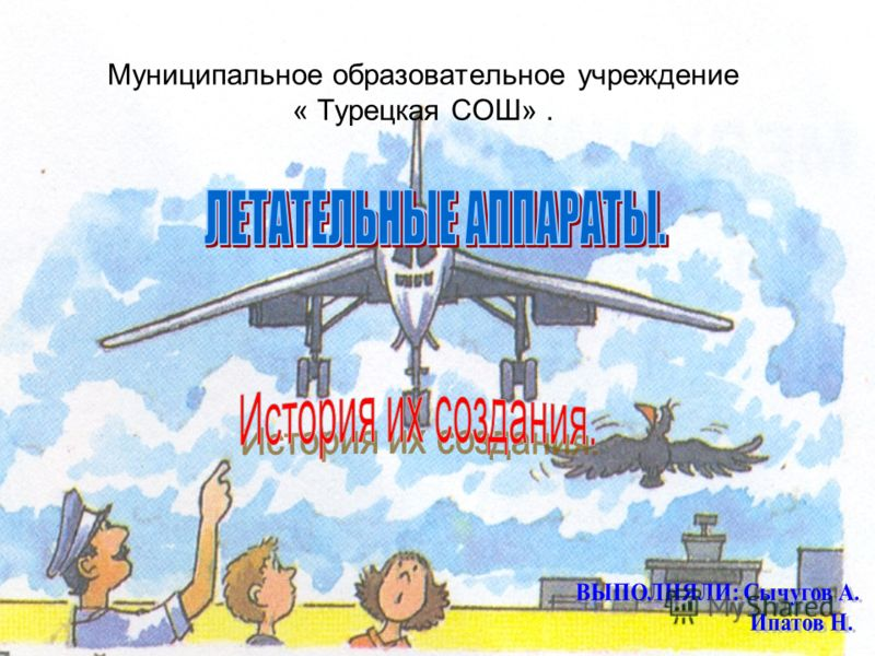 Муниципальное образовательное учреждение « Турецкая СОШ».