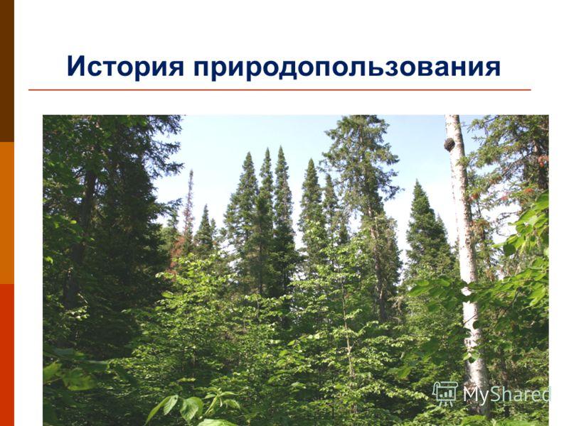 История природопользования