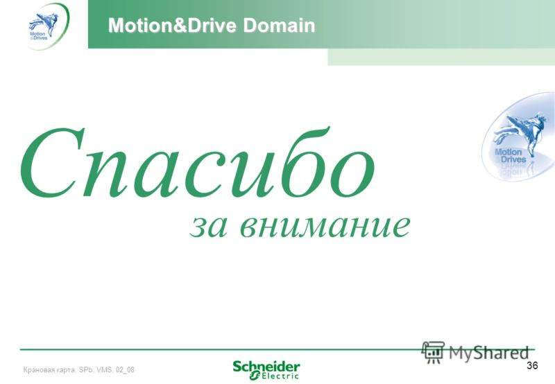 36 Крановая карта, SPb, VMS, 02_08 за внимание Thanks Спасибо Motion&Drive Domain
