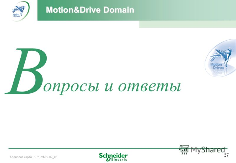 37 Крановая карта, SPb, VMS, 02_08 Q В опросы и ответы Motion&Drive Domain