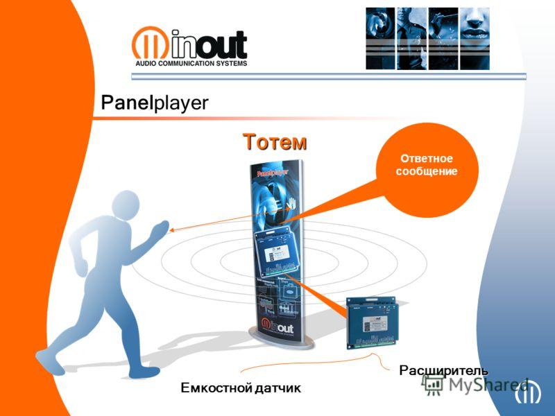Panelplayer Тотем Ответное сообщение Емкостной датчик Расширитель