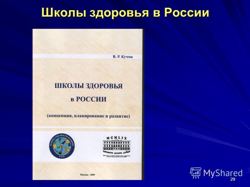 2929 Школы здоровья в России