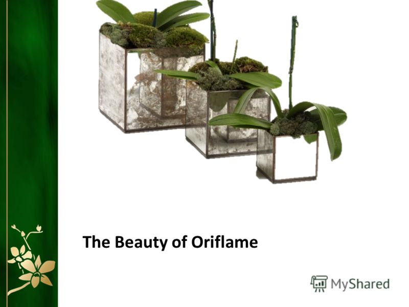 The Beauty of Oriflame