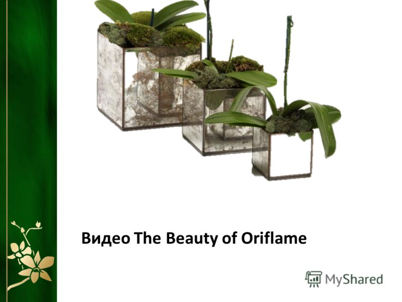 Видео The Beauty of Oriflame