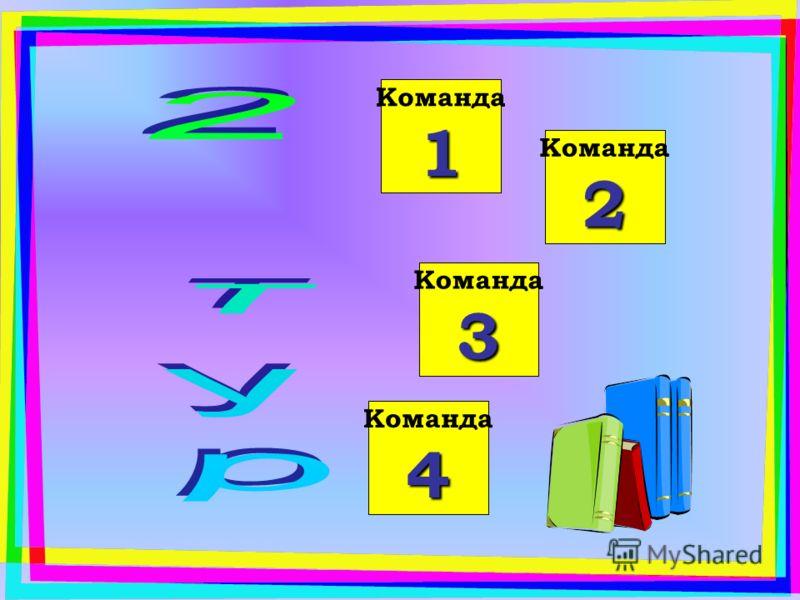 Команда 4 Команда 3 Команда 1 Команда 2 Команда 1 Команда 2 Команда 1 Команда 3 Команда 2 Команда 1 Команда 4 Команда 3 Команда 2 Команда 1