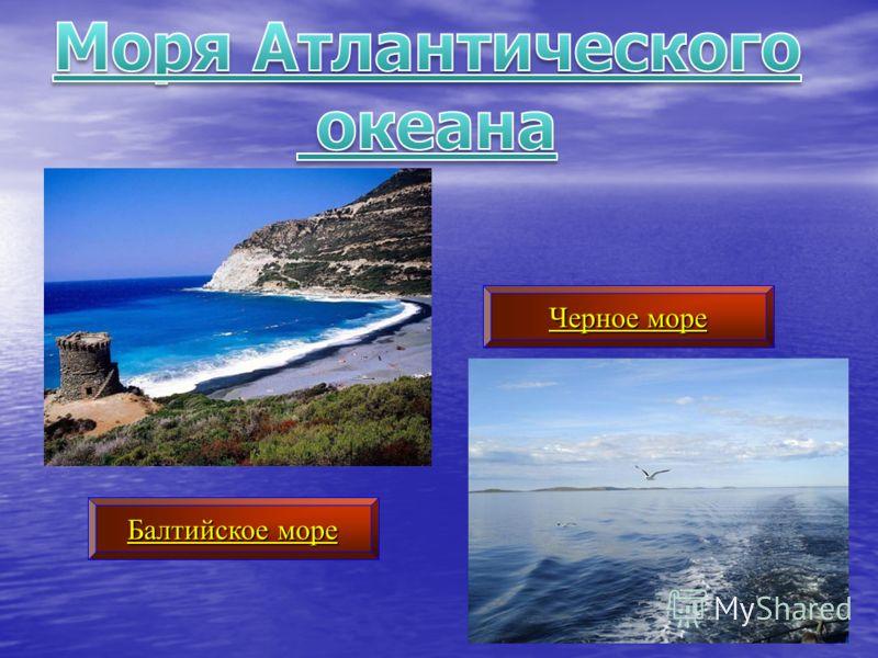 Балтийское море Черное море