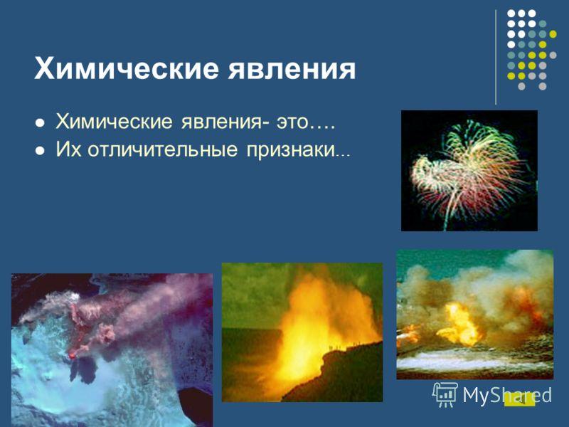 Физические и химические явления химические реакции презентация - bbbd
