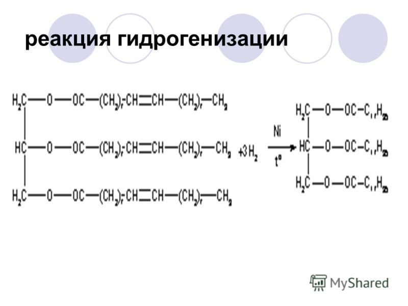 реакция гидрогенизации