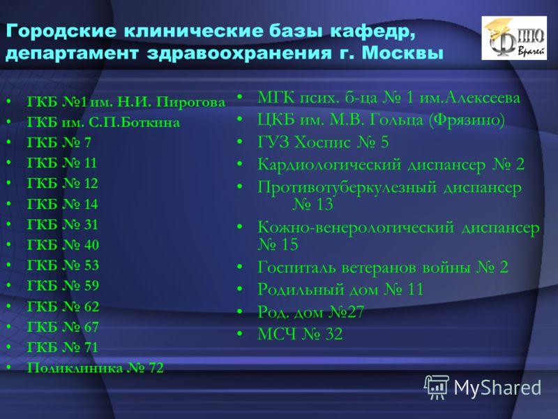 1 гкб г москва: