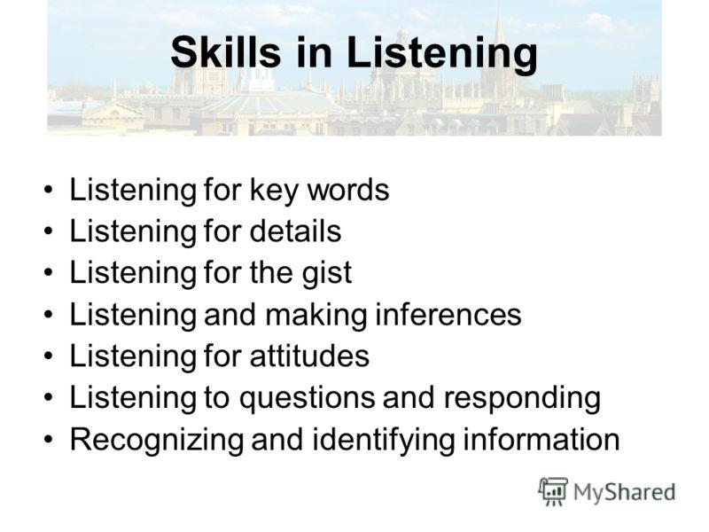Поступающая информация Понимаем смысл Обращаем внимание на элементы языка Используем в собственной речи