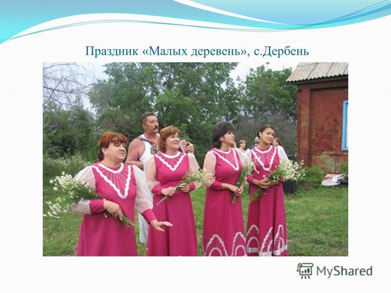 Праздник «Малых деревень», с.Дербень