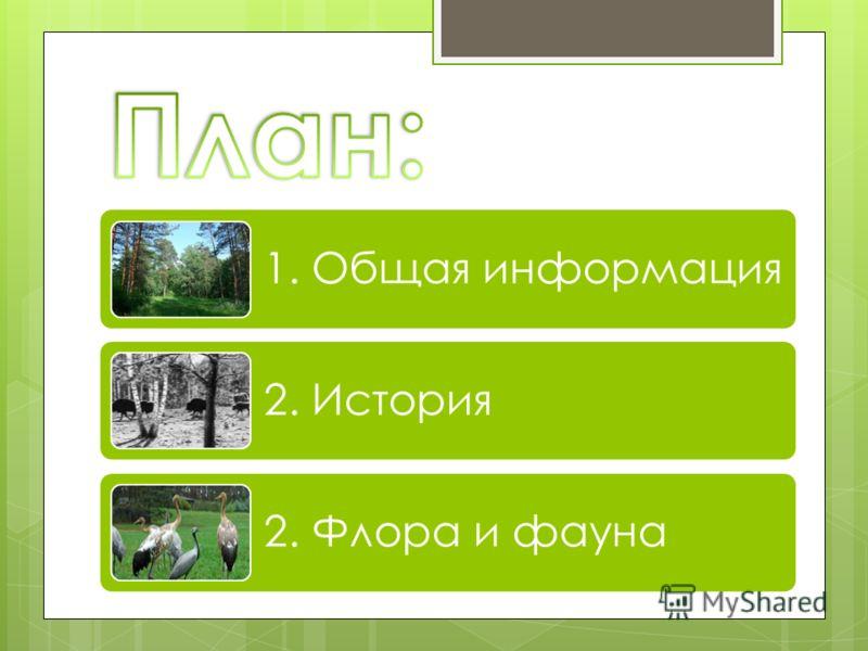 1. Общая информация 2. История 2. Флора и фауна