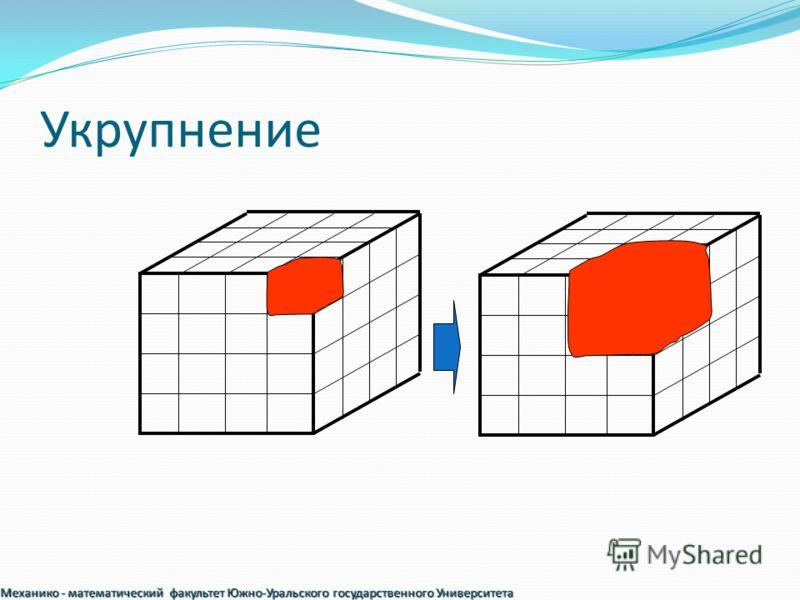 Укрупнение Механико - математический факультет Южно-Уральского государственного Университета