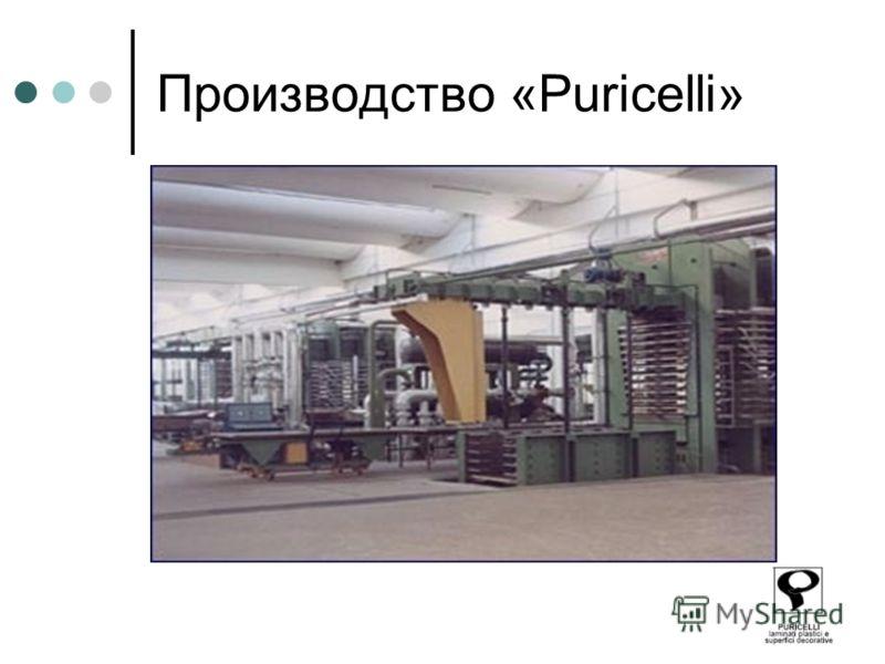 Производство «Puricelli»