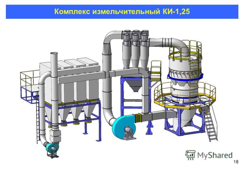 16 Комплекс измельчительный КИ-1,25