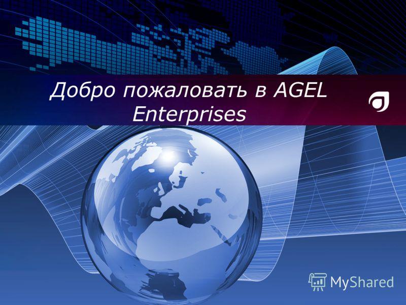 Добро пожаловать в AGEL Enterprises