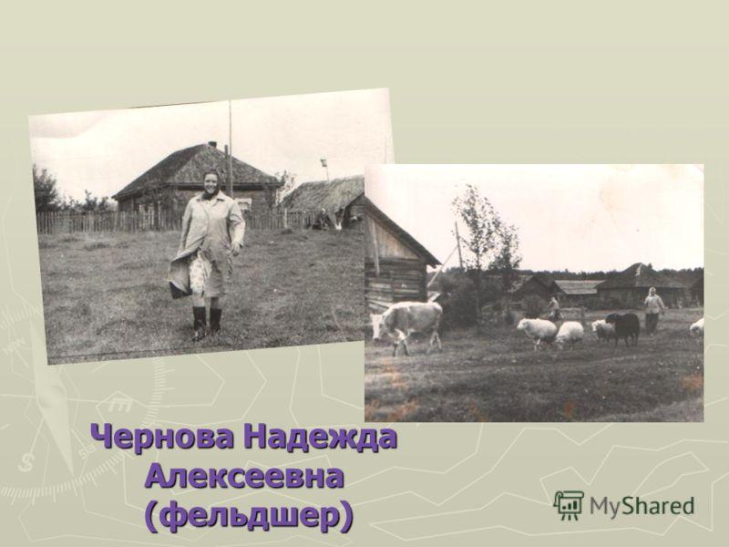 Чернова Надежда Алексеевна (фельдшер) (фельдшер)