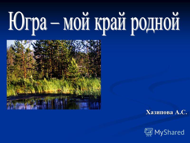 Хазипова А.С.