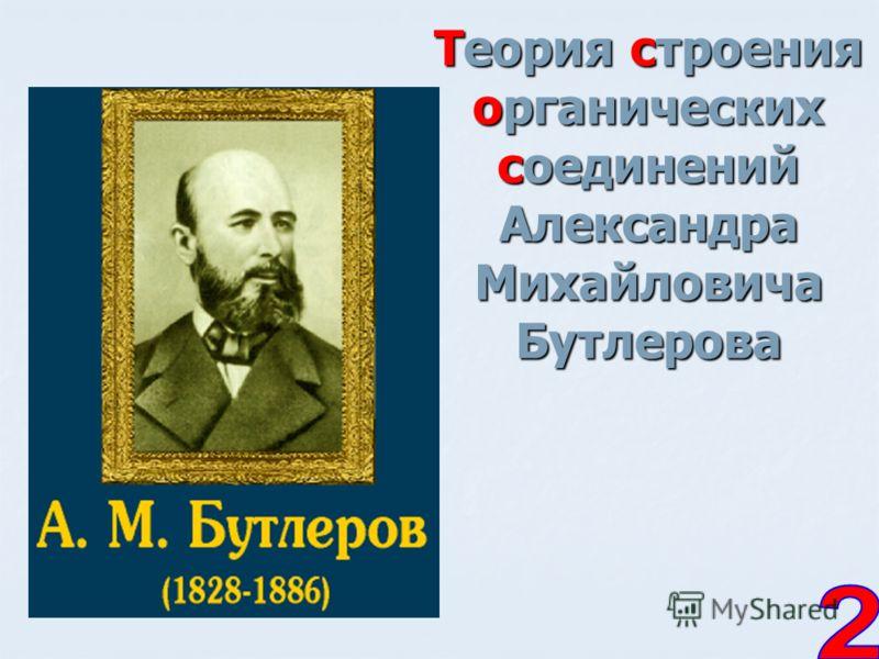 Теория строения органических соединений Александра Михайловича Бутлерова