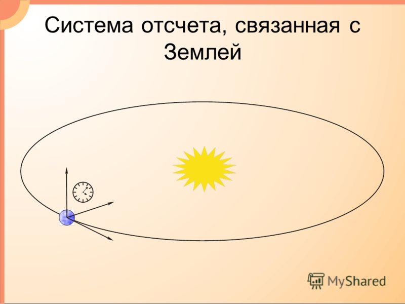 Система отсчета, связанная с Землей