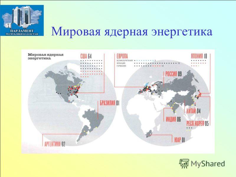 Мировая ядерная энергетика