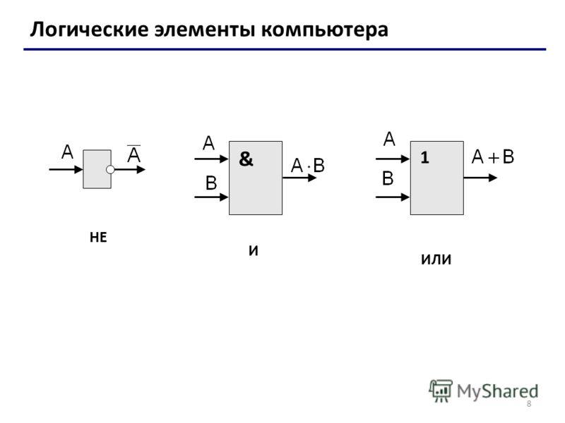 8 Логические элементы
