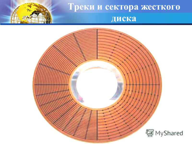 Треки и сектора жесткого диска