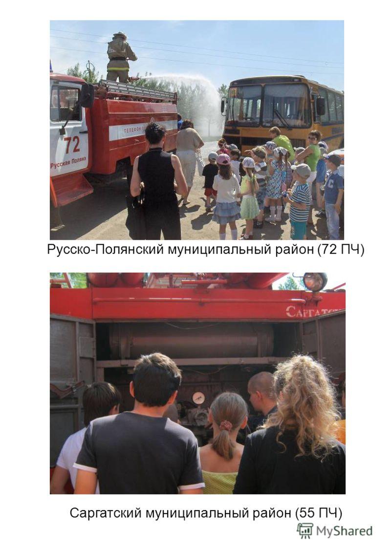 Русско-Полянский муниципальный район (72 ПЧ) Саргатский муниципальный район (55 ПЧ)