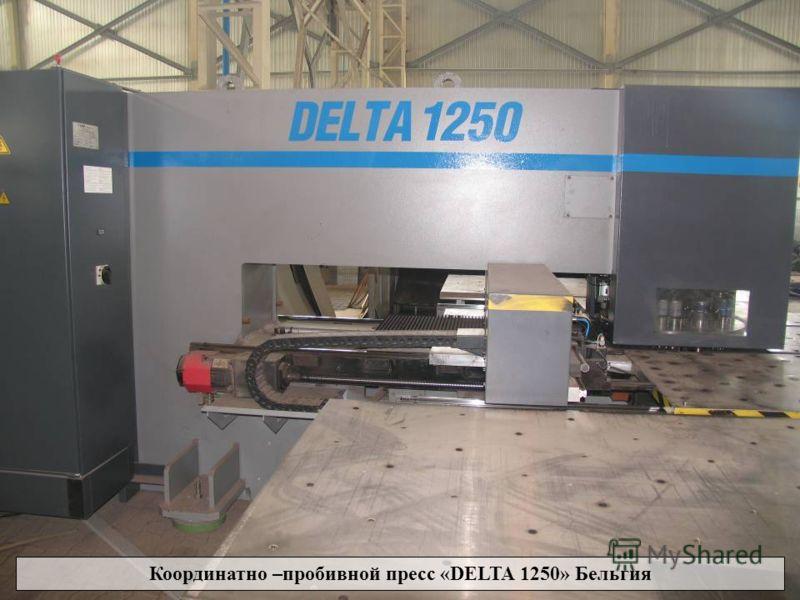 Координатно - пробивной пресс «DELTA 1250» Бельгия. Координатно –пробивной пресс «DELTA 1250» Бельгия