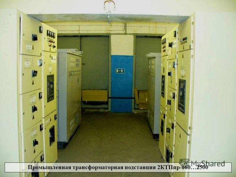 Промышленная трансформаторная подстанция Промышленная трансформаторная подстанция 2КТПпр-160…2500