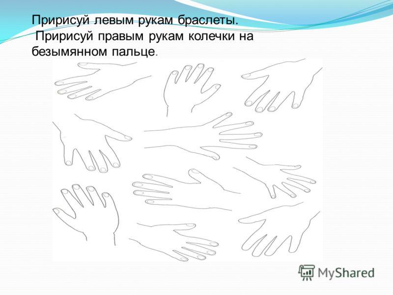 Если положить руки перед собой, то справа будет правая рука, а слева - левая. Если скрестить руки и положить их перед собой, то кисть правой руки окажется слева, а кисть левой руки – справа
