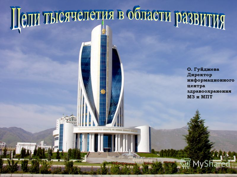 О. Гуйджева Директор информационного центра здравоохранения МЗ и МПТ