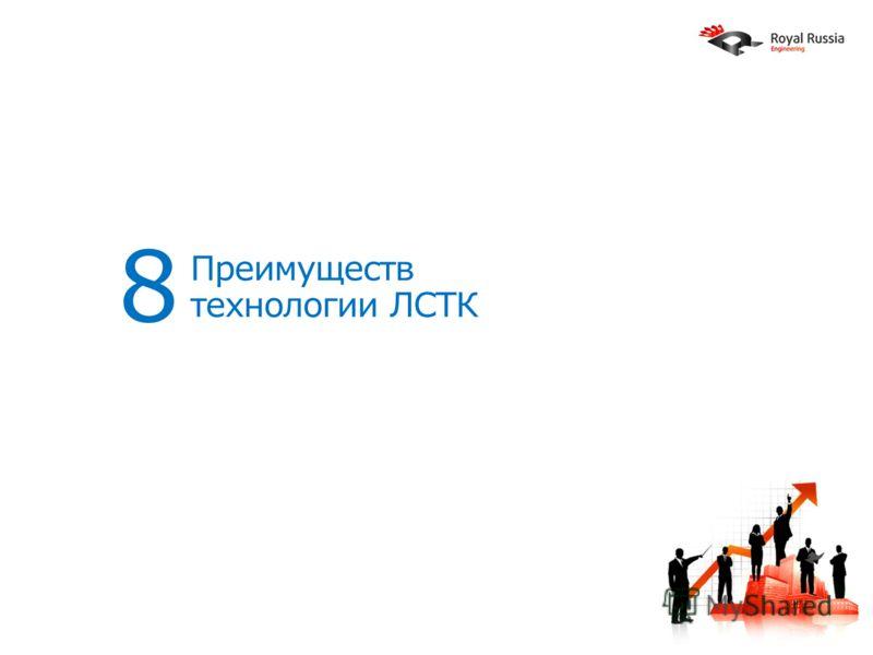 Преимуществ технологии ЛСТК 8