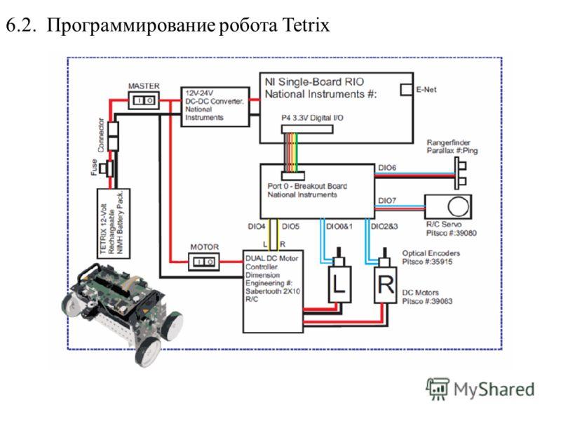 6.2. Программирование робота Tetrix
