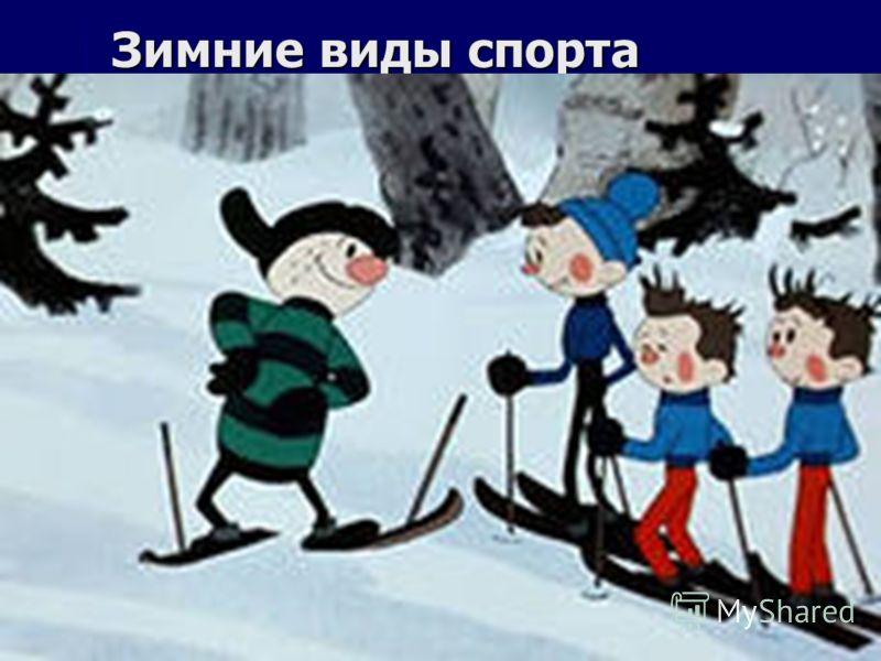 Спорта на снегу лыжный спорт