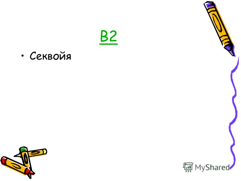 В2 Секвойя
