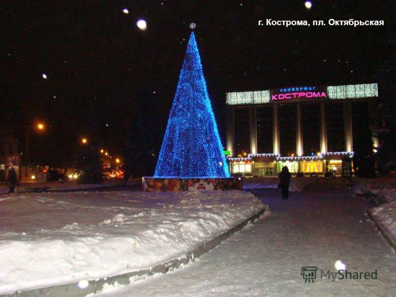 г. Кострома, пл. Октябрьская