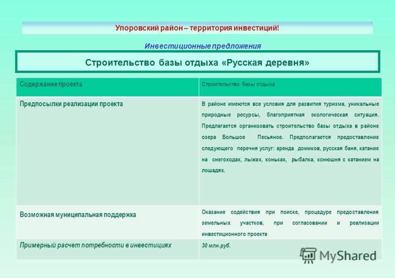 Усть-Каспа - Деревня Активного Отдыха - Главная